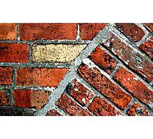 Tectonic Bricks - Saint Nicholas Church, Carrickfergus. Photographic Print
