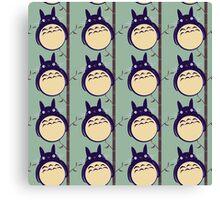 AnimalZ - Totoro Canvas Print