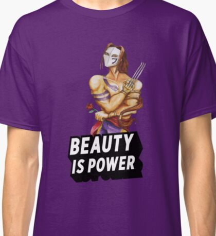Vega: Beauty is Power Classic T-Shirt