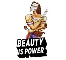 Vega: Beauty is Power Photographic Print