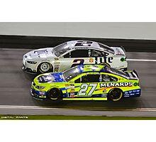 NASCAR 3 Photographic Print