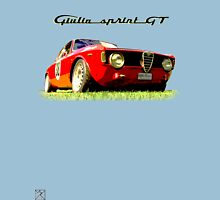 Alfa Romeo Giulia Sprint GT Unisex T-Shirt