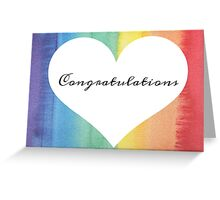 Congrats - LGTB Greeting Card