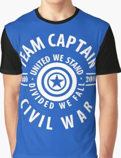 TEAM CAPTAIN - CIVIL WAR Graphic T-Shirt