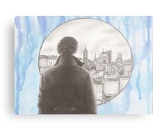 Sherlock's London Metal Print
