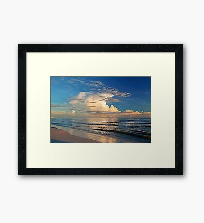 Of Sea and Cloud Framed Print