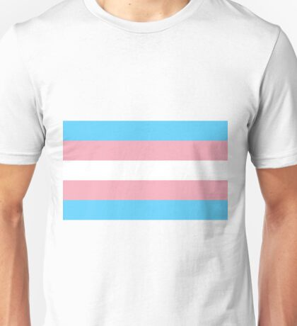 Transgender Pride Flag Unisex T-Shirt