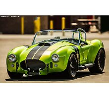 Green Cobra Photographic Print
