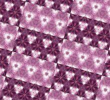 Purple Double Patterned by PatternedArt