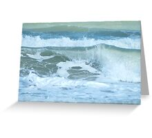 Sudden Surge, Melbourne Beach, Florida Greeting Card
