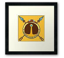 Banana Guard Academy Framed Print