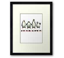 Just Smile and Wave Framed Print
