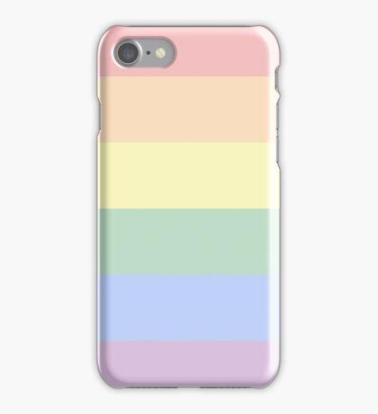 Pastel Gay Pride Flag iPhone Case/Skin