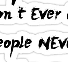 Paramore Misery Business Lyrics Sticker