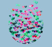 Heart Connections II - watercolor painting (color variation) T-Shirt