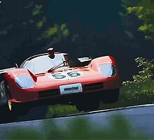 Ferrari 512S at Nürburgring by digitalpaints