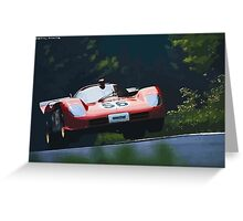 Ferrari 512S at Nürburgring Greeting Card