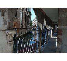 Venice Archways, Italy Photographic Print