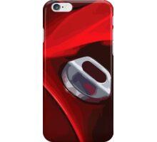 Ferrari fuel cap iPhone Case/Skin