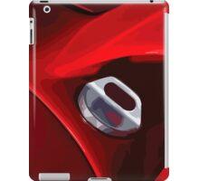 Ferrari fuel cap iPad Case/Skin