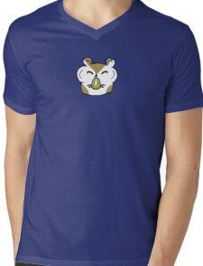 Happy Hamster Eating Mens V-Neck T-Shirt