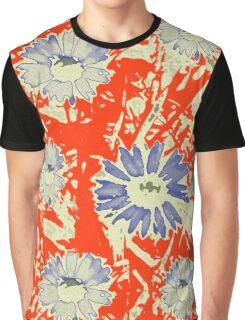 abstract daisy Graphic T-Shirt