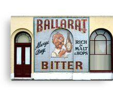 Ballarat Bitter, Ballarat, Victoria, Australia Canvas Print
