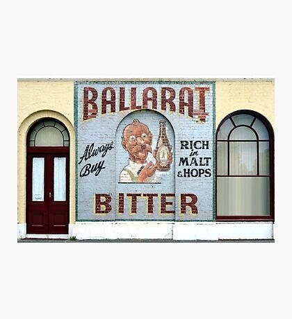Ballarat Bitter, Ballarat, Victoria, Australia Photographic Print
