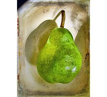 Green Pear # 7 Photographic Print