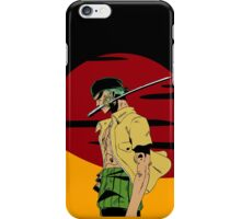 The Swordsman Of The Straw Hat Crew iPhone Case/Skin