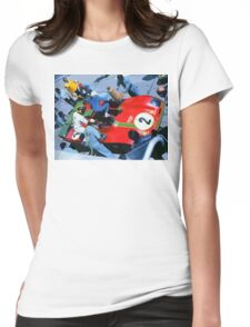 Jump!! Womens Fitted T-Shirt