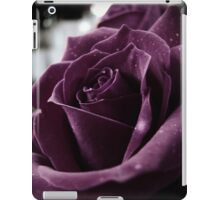 Purple Rose II iPad Case/Skin