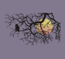 The Owl And The Moon Kids Clothes