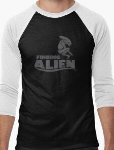 Finding Alien (Finding Dory inspired horror) Men's Baseball ¾ T-Shirt
