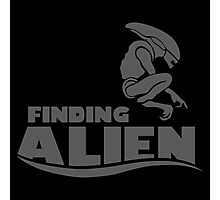 Finding Alien (Finding Dory inspired horror) Photographic Print