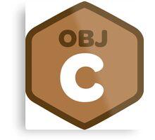 objetive-c programming language objetive c Metal Print