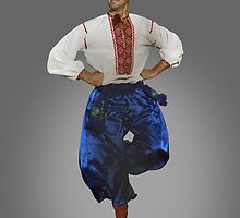 Ukrainian Dancer by Yuri Lev