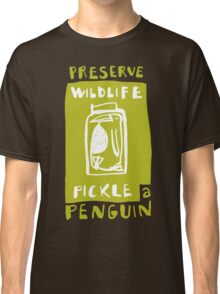 Pickle a Penguin Classic T-Shirt