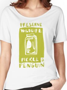Pickle a Penguin Women's Relaxed Fit T-Shirt