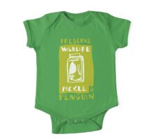 Pickle a Penguin One Piece - Short Sleeve