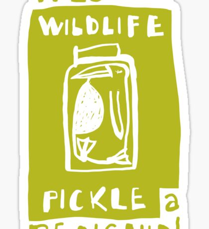 Pickle a Penguin Sticker