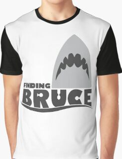 Finding Bruce (Finding Dory inspired horror) Graphic T-Shirt