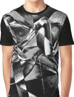 The Models: Black & white Graphic T-Shirt