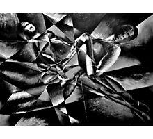 The Models: Black & white Photographic Print