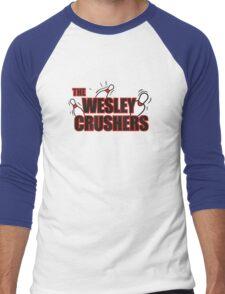 Wesley Crushers Men's Baseball ¾ T-Shirt