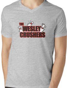 Wesley Crushers Mens V-Neck T-Shirt
