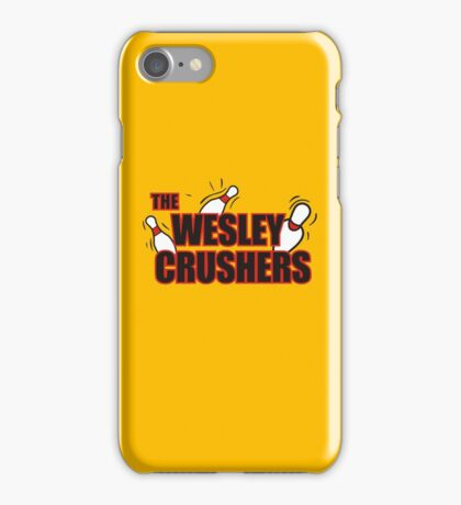 Wesley Crushers iPhone Case/Skin