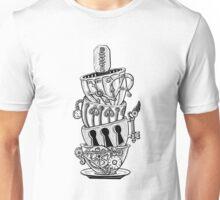 Steampunk Teacups Unisex T-Shirt