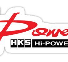HKS Power Muffler Sticker
