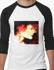 The Red Head: Graphic  Men's Baseball ¾ T-Shirt